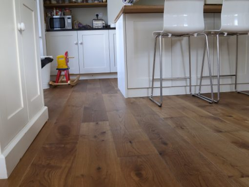 Lightly Smoked Oak Flooring