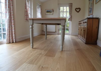 Smooth, Oiled Oak Flooring