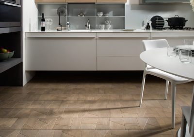 Geometric Panel Oak Flooring