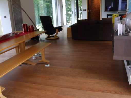 Hazel oak engineered wooden flooring