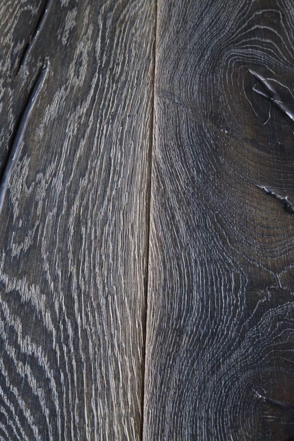 Distressed Dark Oak Rustic Floorboards