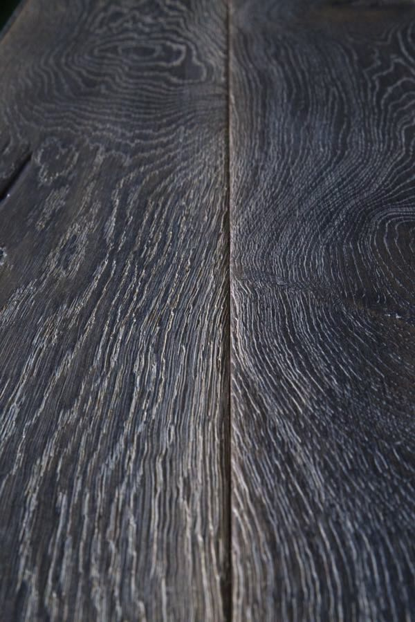 Dark Oak Flooring - A practical wooden floor for commercial premises, beautifully rustic flooring for period properties