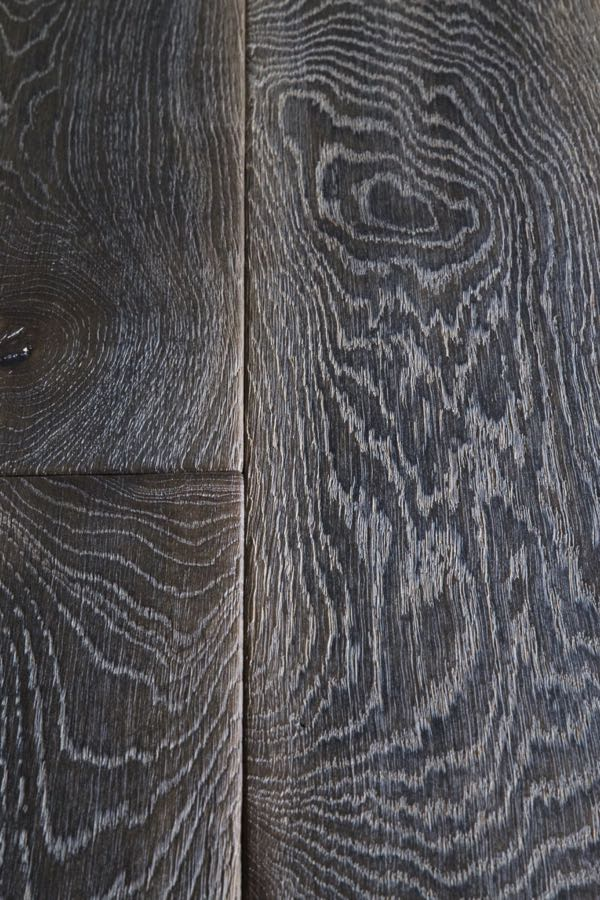 Rustic Dark Oak Flooring - product code HC4202 at hicraftflooring.co.uk - deeply distressed dark oak flooring, hardwearing, practical and beautiful