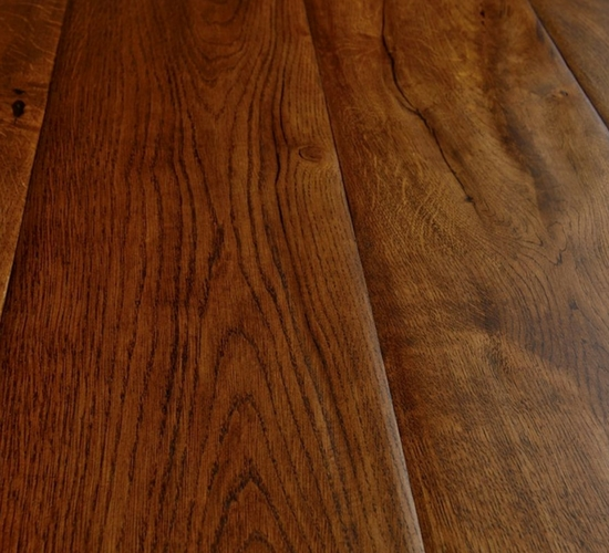 Medieval Oak Flooring, hand finished flooring