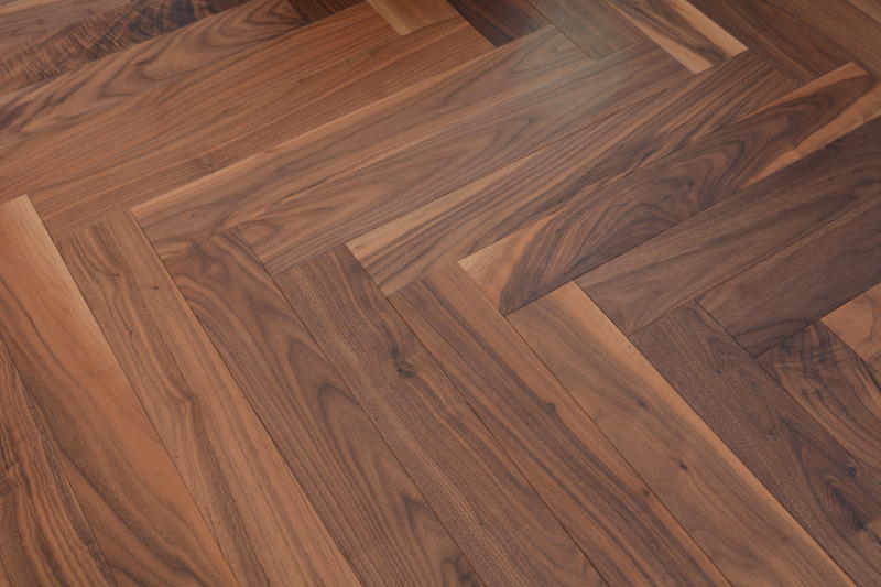 American Black Walnut Floor Hicraft Wooden Flooring
