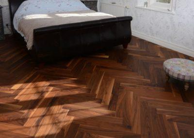 American Black Walnut Floor